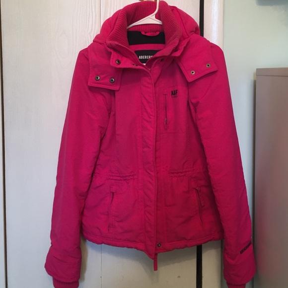 Hot Pink Winter Coat