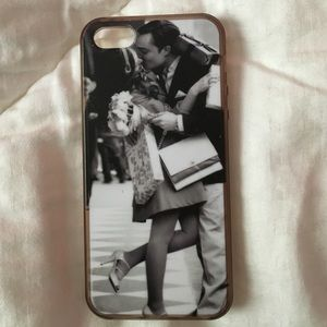Customized Chuck and Blair iPhone 5S case