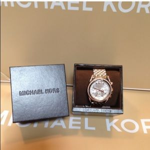 Michael Kors Gold Tone Watch