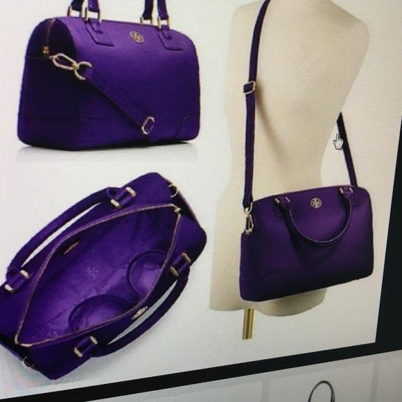 5247cebcde9 Purple Tory Burch Robinson Handbag. M 56f2c98bf0137d817d0369c2