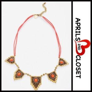 ❗1-HOUR SALE❗Boho Stone Jewel Statement Necklace
