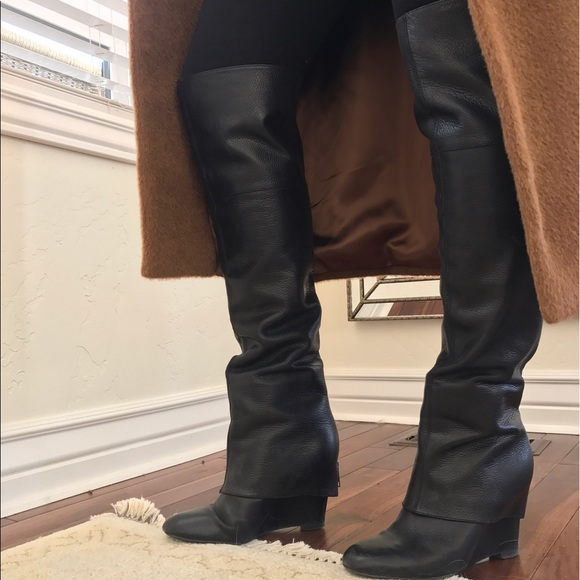 Zip Boots Shoes Poshmark Pearl With The Ash Over Knee q0SXn6w