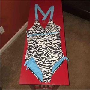 Justice one piece swimsuit