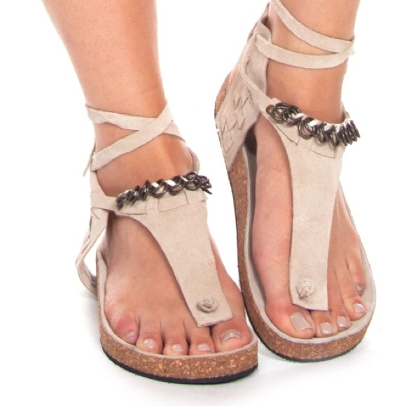 7c0bed4489e Free People Shoes - Free people Collins Ankle cuff sandals