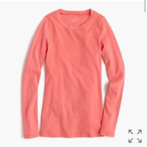 J.Crew Long Sleeve Perfect Tee