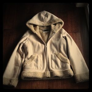 Soft Faux Suede Jacket