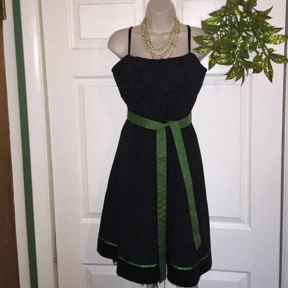 Maurices ?Size11 12 Black And White Baby Doll Dress