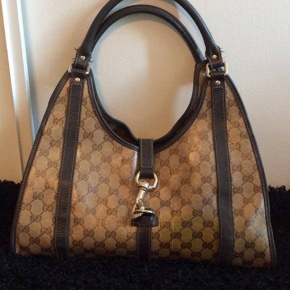 3a5ad46b7588cb Gucci Handbags - HOLD DONT BUY!!!! Gucci Coated Canvas Bag