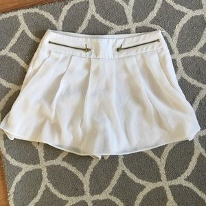 Zara white tulle skort skirt/shorts  xs