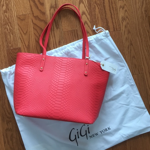 GiGi New York Bags - GiGi New York Mini Taylor Poppy Tote