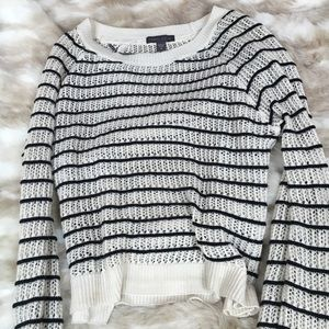 PacSun Sweaters - Kendall and Kylie- knitted black and white sweater