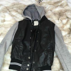 pacsun leather jacket