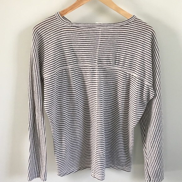 Zara Tops - Zara long sleeve striped tee