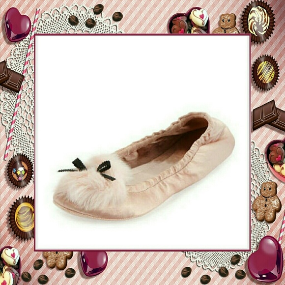 1f47ab79b kate spade Shoes - Kate Spade NY Camden Satin Slippers w/Poms and Bow