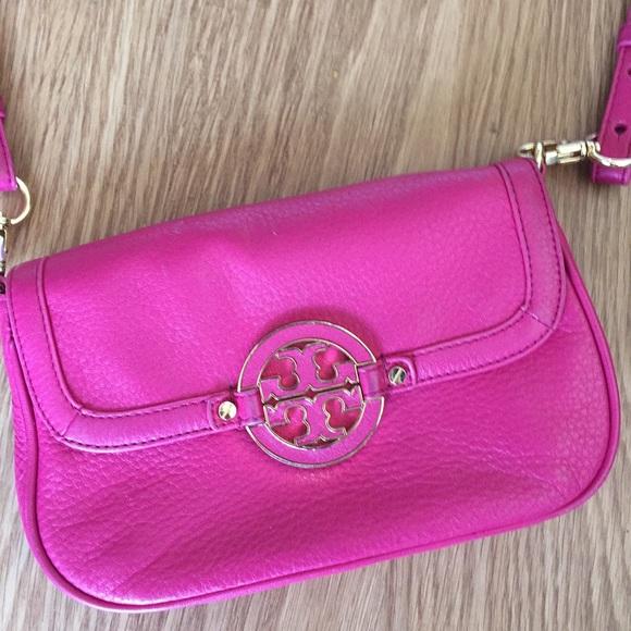 5ada74704e9 Tory Burch Bags | Hot Pink Amanda Crossbody Sold Out | Poshmark
