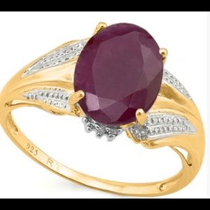 Jewelry - Ruby and Diamond Ring