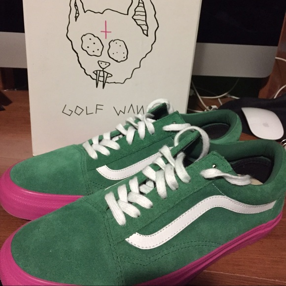 vans golf shoes. golf wang vans size 9 shoes
