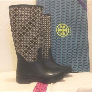 Tory Burch Shoes - Tory Burch Jacquard Rainboot Rain Boots Boot
