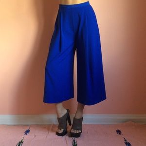 The Fifth Pants - The Fifth Cobalt Cropped Trouser