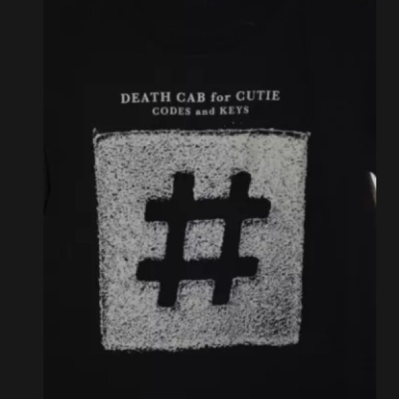 ⭐️ Death cab for cutie tour shirt