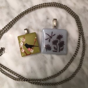 Jewelry - Two Nature Pendants & Chain