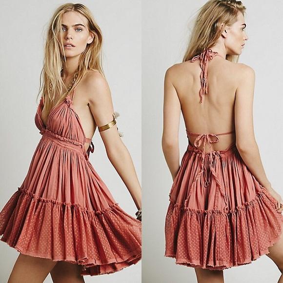 c9dd55a3de Free People Dresses   Skirts - 100 Degree Dress in Wild Rose