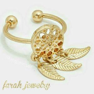 Farah Jewelry Jewelry - 🌻Dream Catcher Cuff Ring
