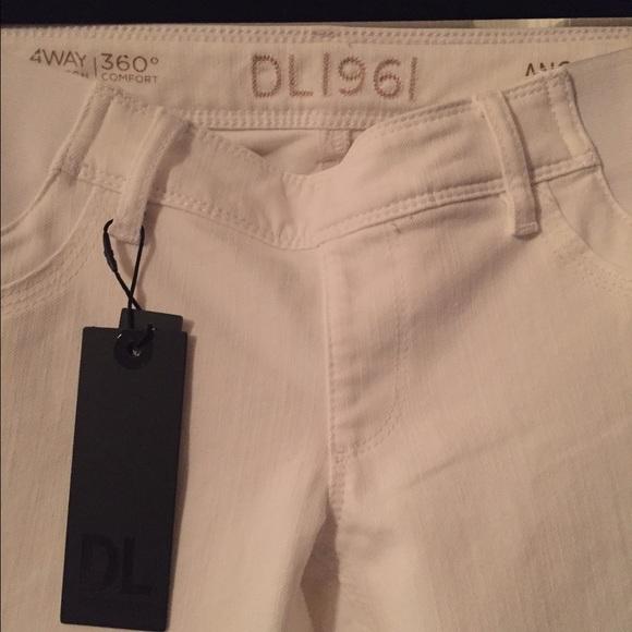 58% off DL1961 Denim - DL 1961 Angel Maternity jeans size 24 White ...