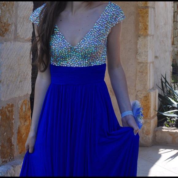 Glow Dress Dresses   Royal Blue Prom Dress Size 0   Poshmark