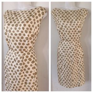 HPVINTAGE Silk Polkadot Dress
