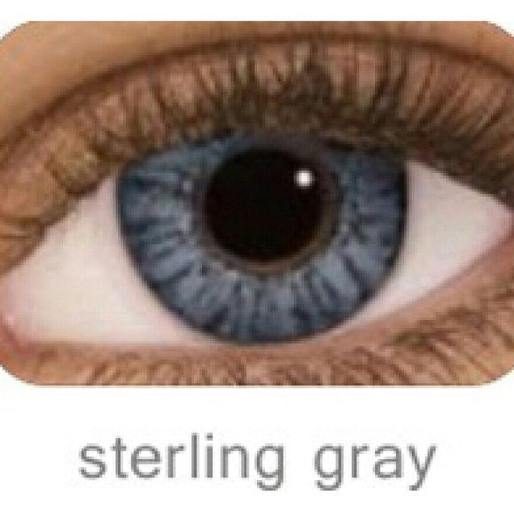 fresh look makeup 1 pair sterling gray color contacts poshmark