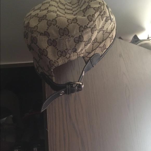 0d6c58a218f7a Gucci Accessories - Gucci Canvas Military Hat
