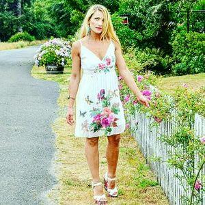 "Dresses & Skirts - 💋ALMOST GONE💋""FLOWERS & BUTTERFLIES"" DRESS"