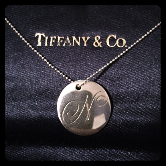 0f1b14f2d Tiffany & Co. Jewelry | Tiffany Co Notes Letter N Pendant Necklace ...