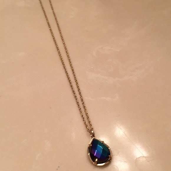 b19f860e2d4c1f Kendra Scott Jewelry | New Kiri Teardrop Necklace | Poshmark
