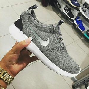5bdf71d441b8 ... Women s Nike Roshe Run Grey Gray Nike Juvenate Gray Fleece TP ...