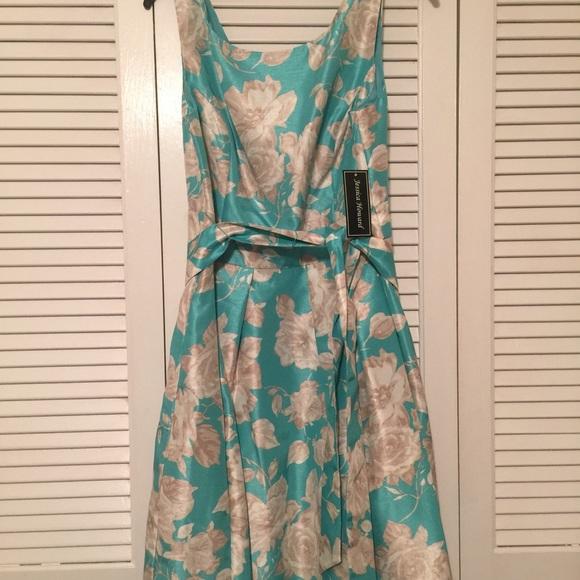 3f7a3fabd0cec Jessica Howard Dresses   Tea Length Floral Print Dress New   Poshmark