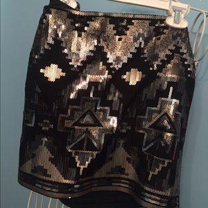 Express Dazzling Pencil Skirt