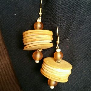 Gourd Chip Earrings