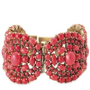 Stella & Dot Sardinia Bracelet in Red