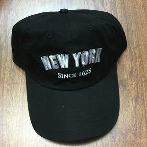 Black New York baseball cap