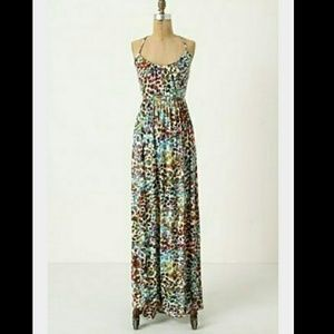 68 off anthropologie dresses skirts anthro for Anthropologie mural maxi dress