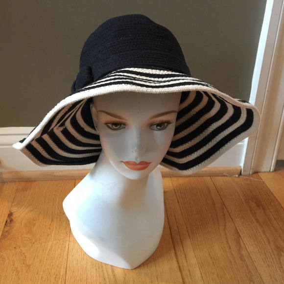 kate spade Accessories - KATE SPADE KNIT FLOPPY HAT HATS OFF d1fe8798c12