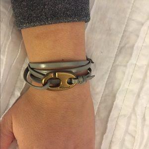 miansai Jewelry - miansai brummel hook on leather wrap bracelet
