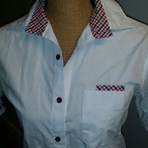 Tops - White short sleeve shirt