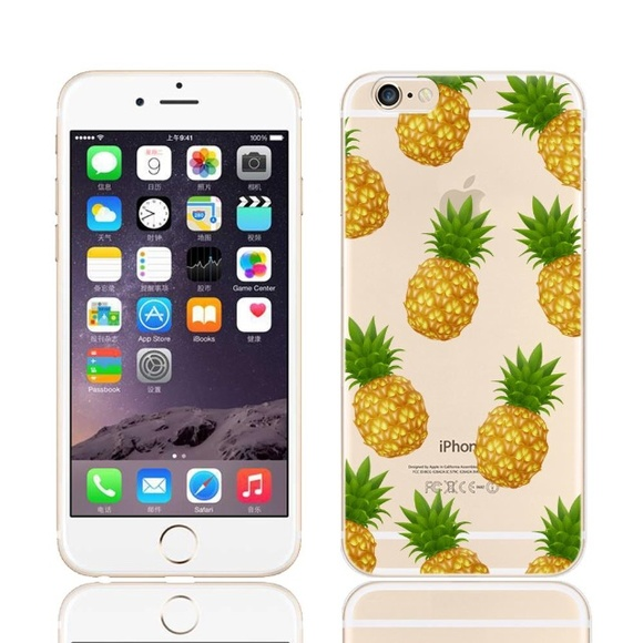 detailed look 5a704 1019a iPhone 6 Plus Case Pineapple Case Boutique