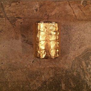 Monika Chiang Jewelry - Monika Chiang crocodile gold cuff