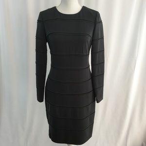Ivy & Blu Charcoal Jersey Dress