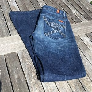 7 For All Mankind Flynt Jeans 27 Short