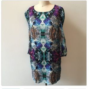 Leifsdottir silk dress